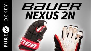 Bauer Nexus 2N Glove Hockey Gloves   Product Review