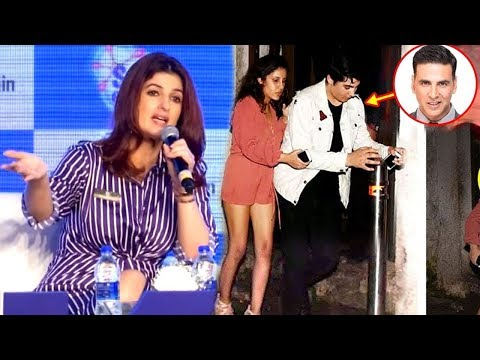 Twinkle Khanna's SHOCKING Comment On Akshay Kumar's Son Aarav CAUGHT Drunk In Public
