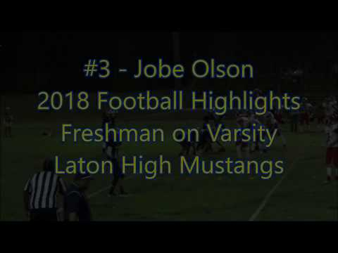 2018 - Jobe's Highlights - Laton High School