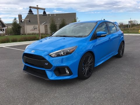 2016 Ford Focus RS Redline Review