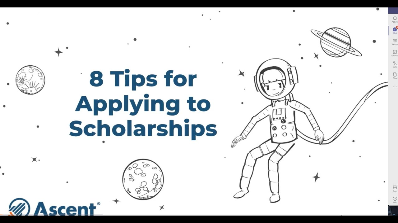 8 Tips for Applying to Scholarships