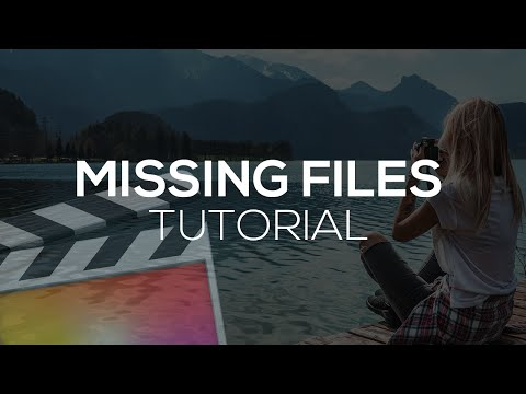 How To Fix Missing Files - Final Cut Pro X