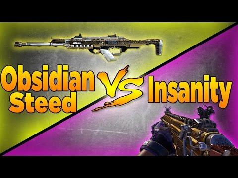 HBRa3 Insanity VS BAL-27 Obsidian Steed (Call of Duty Advanced Warfare Versus)