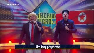 Los Morancos se transforman en Kim Jong-un y Donald Trump