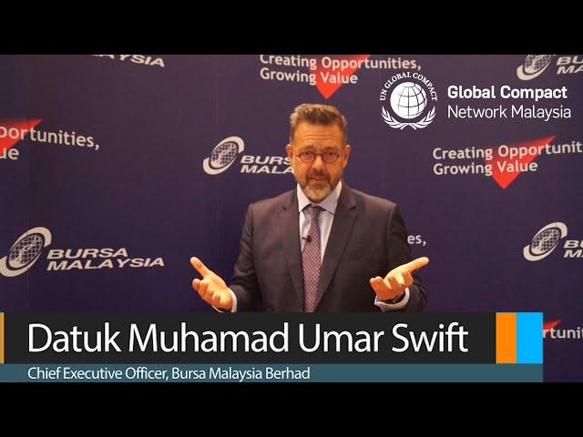 GCMY CEO Wisdom Series Featuring Datuk Muhamad Umar Swift, Chief Executive Officer of Bursa MY