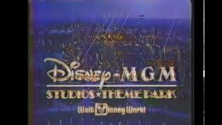 Retro Orlando - 1989 Disney-MGM Studios Theme Park TV Commercial