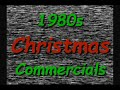 1980s RETRO CHRISTMAS COMMERCIALS FROM VHS