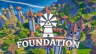 FOUNDATION 🏡 001: Siedelspaß mit Wuselfaktor