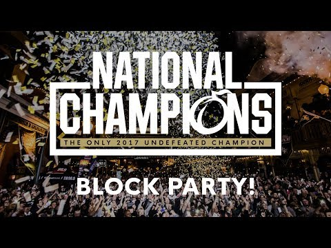 Knights National Champions Celebration