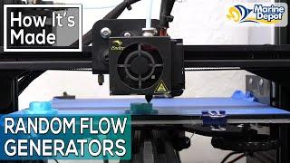 How Random Flow Generators are Made! Behind the Scenes at Vivid Creative Aquatics (VCA)