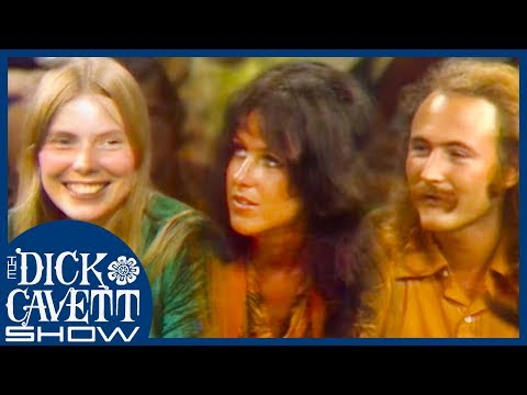 Joni Mitchell, Jefferson Airplane And David Crosby Discuss Woodstock Festival | The Dick Cavett Show