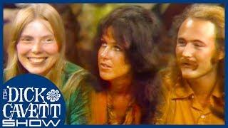 Joni Mitchell, Jefferson Airplane and David Crosby Discuss Woodstock Festival | The Dick Cavett Show