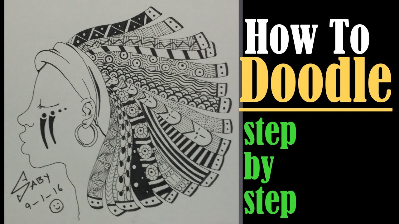 Zentangle Art Tutorial For Beginners, How To Drawplex Doodle Design,  Step By Step Speed Drawing