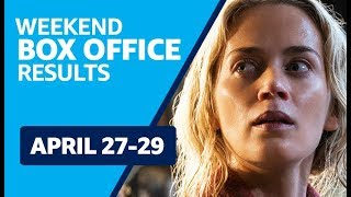 Weekend Box Office Results | April 27-29 Avengers: Infinity War, A Quiet Place and more!