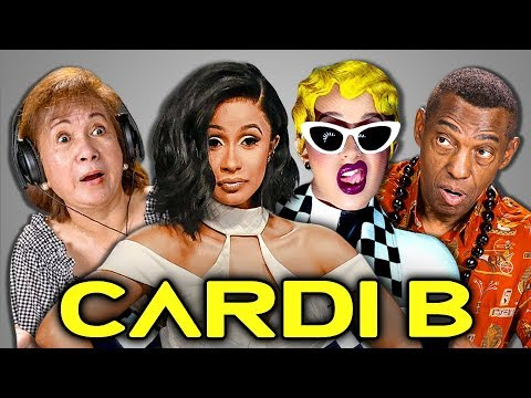 ELDERS REACT TO CARDI B - INVASION OF PRIVACY (Album Reaction)