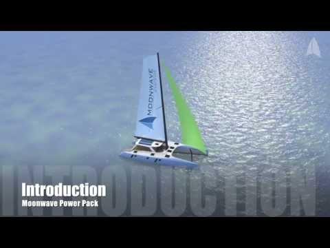Moonwave PowerPack - The Catamaran Hybrid Propulsion System