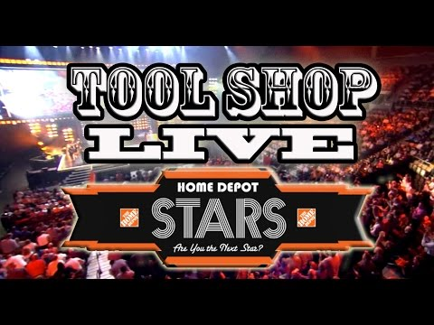 HOME DEPOT STARS LIVE IN LAS VEGAS! - TOOL SHOP
