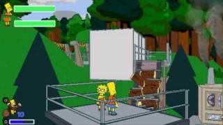 #14 обзор. The Simpsons game (PSP)