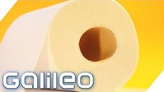 Klopapier-Boom! Aber wie wird Toilettenpapier hergestellt? | Galileo | ProSieben
