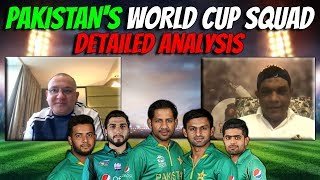 Pakistan's World Cup Squad | Detailed Analysis | Caught Behind