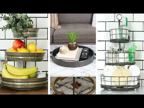 Creative Uses For Trays In Every Room