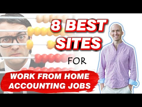 8 Best Sites For Work From Home Accounting Jobs