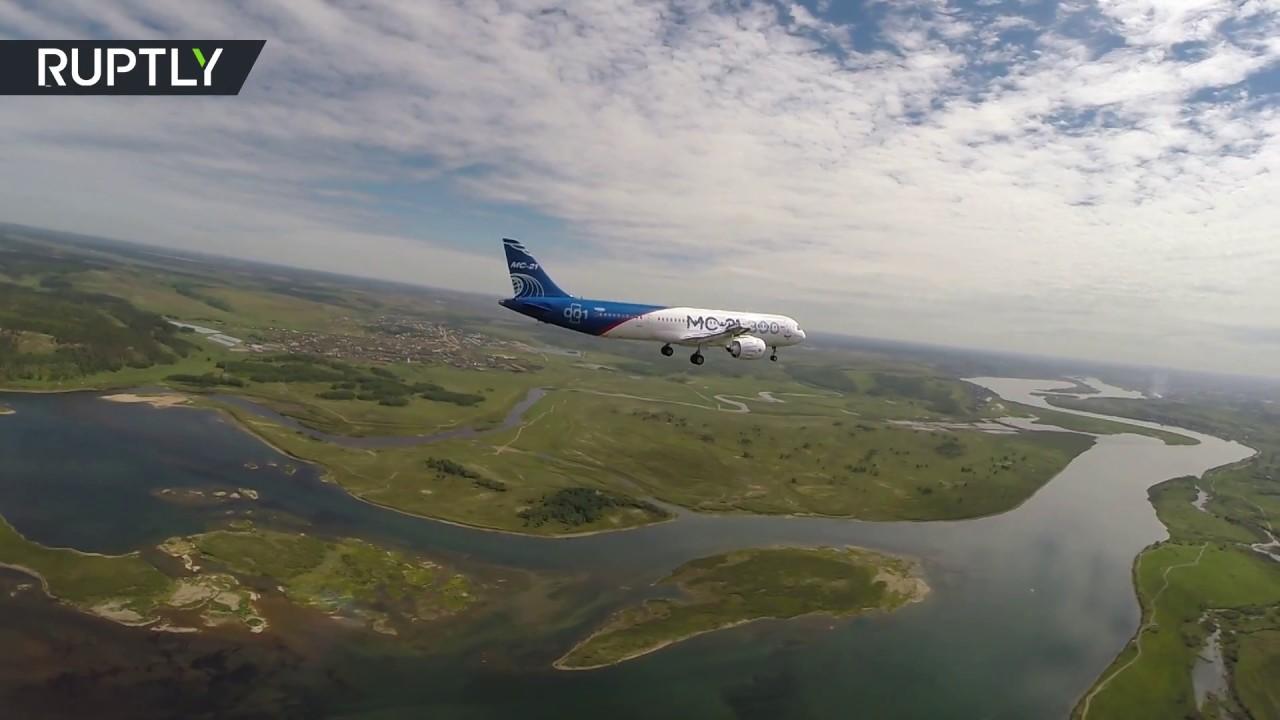 Первый полёт МС-21 в Иркутске