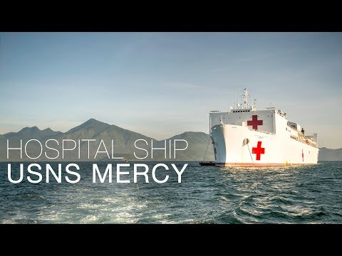 Oil Tanker Turned Into Floating Hospital: Inside Navy's Hospital Ship USNS Mercy