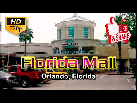 Florida Mall Orlando, Florida  HD 720p