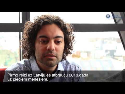 My Experience. University of Latvia - Leonardo Pataccini