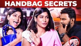 Bigg Boss Vijayalakshmi Handbag Secrets Revealed by Vj Ashiq | What's Inside the Handbag?