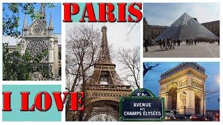 PARIS - FRANCE City Tour  | Paris en été Paris, France - A WALKING TRAVEL TOUR  FRANCE