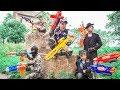 Nerf Guns War : Police Men Of TTNerf Team Special Catch Ninja Super Boss XX Criminal Dangerous