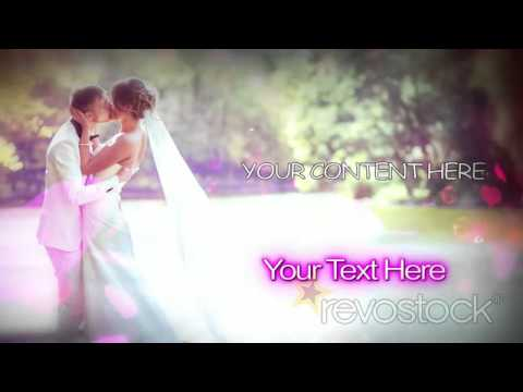 wedding photo montage after effects template project revostock, Presentation templates