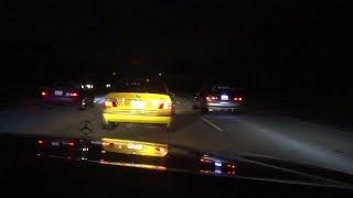 A little racing, a lot of cops! Atlanta street racing
