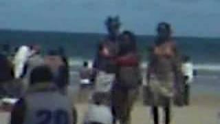 Trinidad, On Mayaro Beach with the Boom 2006