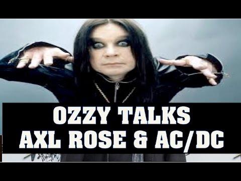 Guns N' Roses News: Ozzy Osbourne Talks Axl Rose & AC/DC