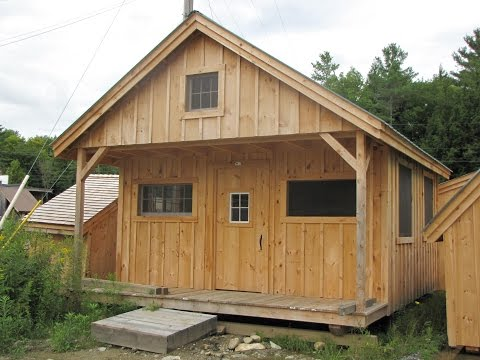 16x20 Vermont Post and Beam Cabin Kit