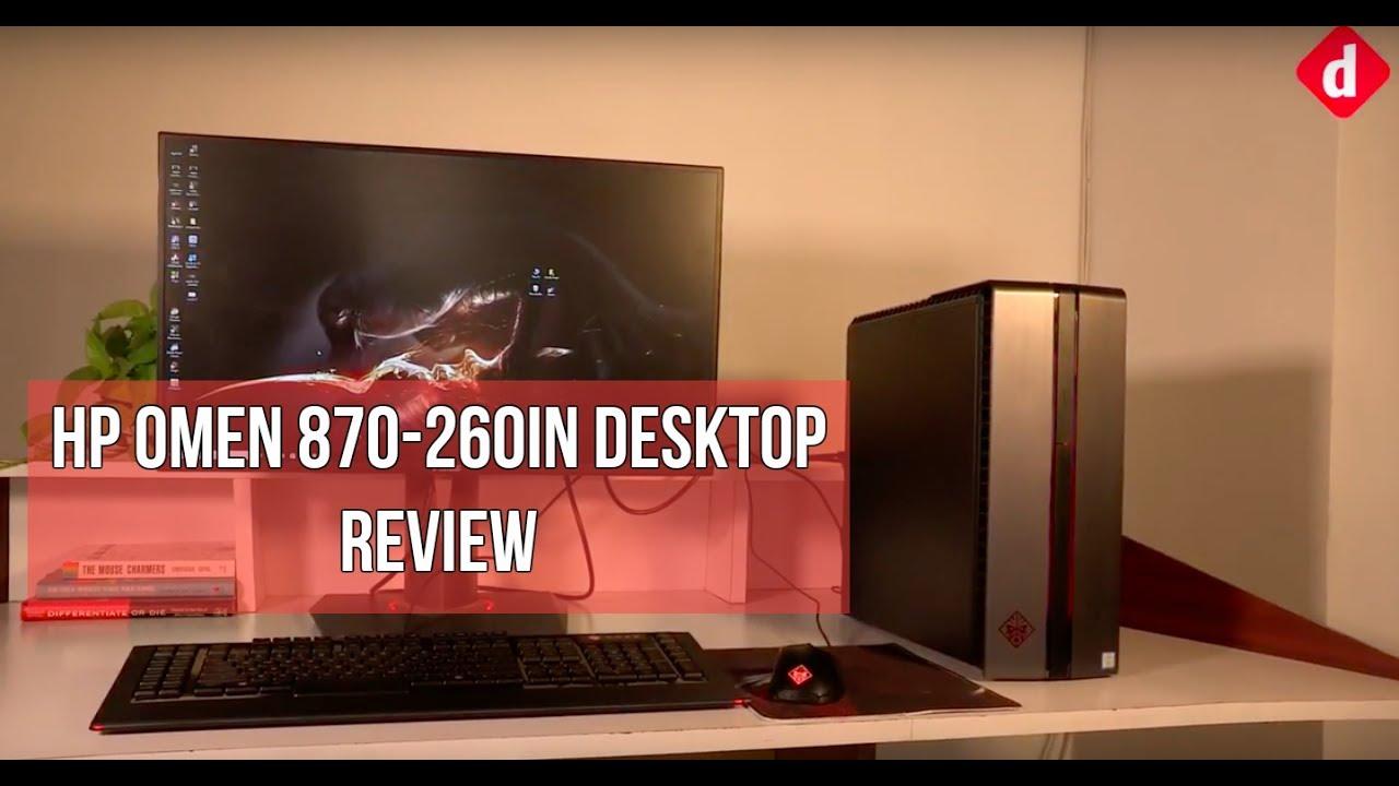 HP Omen 870-260In Desktop PC Review | Digit in
