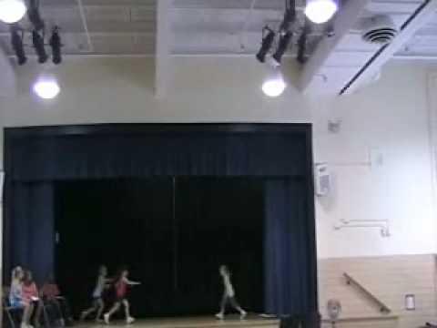 Dancing at Timonium Elementary School Talent Show June 2010.wmv