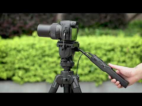 JJC TP F2K Remote Control Tripod For Sony Cameras Or Camcorders With A Multi Terminal As VCT-VPR1