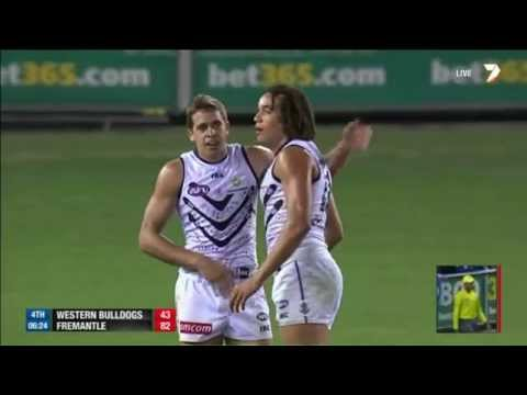 Rd 11 - Stephen Hill the Freo flyer
