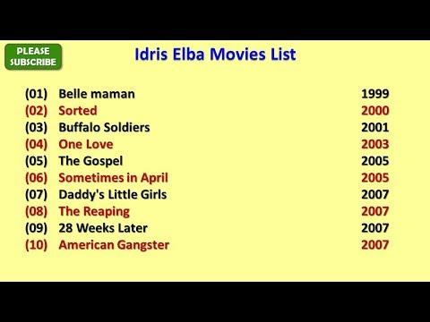 Idris Elba Movies List