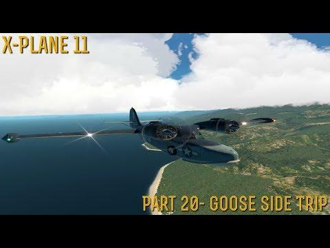 [X-Plane 11] Part 20- Goose Side Trip