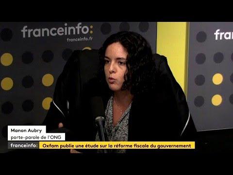 """""""Le gouvernement offre 24 milliards d'euros de cadeaux fiscaux aux plus riches"""" (Oxfam)"""