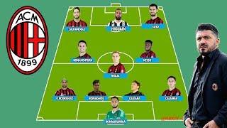 Possibile FORMAZIONE MILAN 2018/2019 (con Caldara, Higuain, Romagnoli etc..)