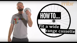 How to fit a 10 speed wide range cassette | MBR