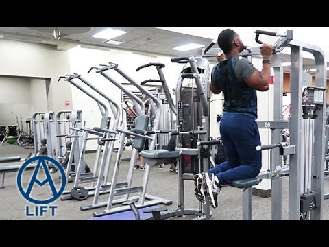 ASSISTED PULL-UP/CHIN-UP & DIP MACHINE TUTORIAL
