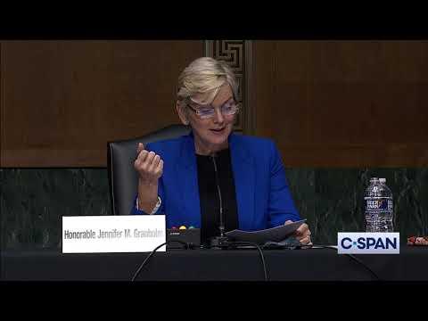 Secretary of Energy Nominee Jennifer Granholm Opening Statement
