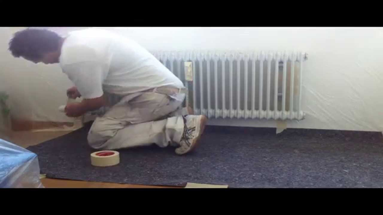So Geht S Heizkorper Lakieren Spraydose Spritzen Youtube